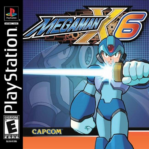 MegaMan X6 Front Cover